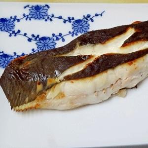 厚い切身の焼き方☆ 「ババガレイ粕漬け」