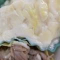 食べ応え抜群♫餅グラタン