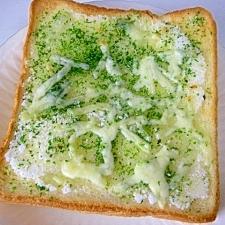 青のりシュガー&チーズトースト♪