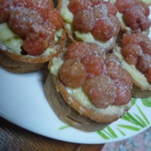 木苺とピスタチオクリームのタルト