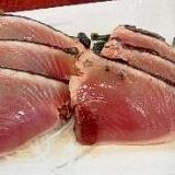 魚焼きグリルで☆カツオのたたき風【自宅チャレンジ】