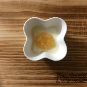 離乳食 レンジで簡単〜りんごヨーグルト〜