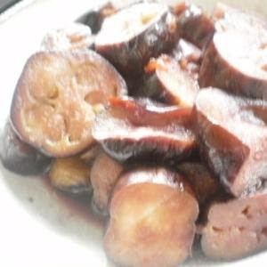 茄子のピリ辛煮