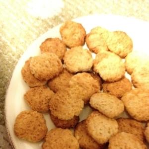 酒粕のチーズ風味クッキー