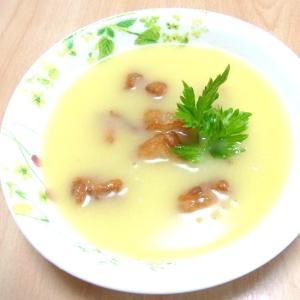鶏から揚げ入り 大麦生活コーンスープ