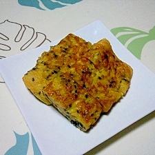黒ごま入りの甘い卵焼き++