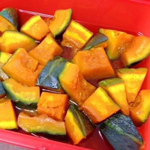 シリコンスチーマーで☆かぼちゃの煮物