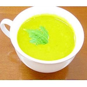 かぼちゃとじゃがいものカレー風味スープ