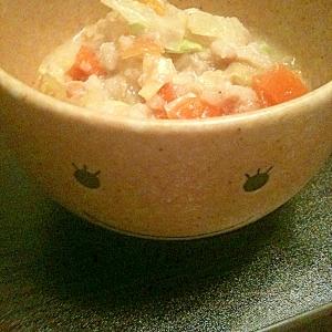 ☆夏風邪に・・・豆腐雑炊☆