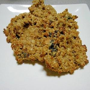 プロテインが余ったら♪混ぜて焼くだけ簡単クッキー