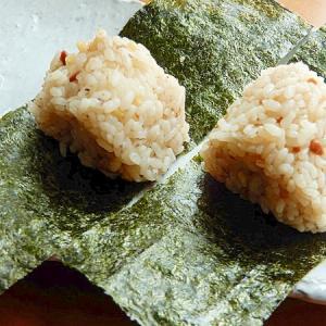 5分!?新生姜の味噌味おにぎり♪(発酵食品)