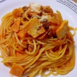 お家でお手軽イタリアン♪いわしのトマトスパゲティ♪