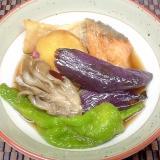 生鮭と舞茸の揚げ浸し