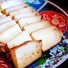 え?チーズじゃないの?燻製豆腐の味噌漬け