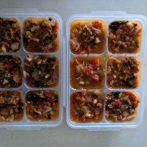離乳食後期〜 炊飯器で野菜一杯ミートソース 冷凍可