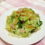 中華炒めペーストdeシャキシャキ野菜炒め♪