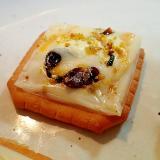 のりたま/マヨで チーズと塩昆布の焼きクラッカー