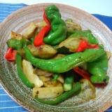 グリーンカレーペーストを使った野菜炒め