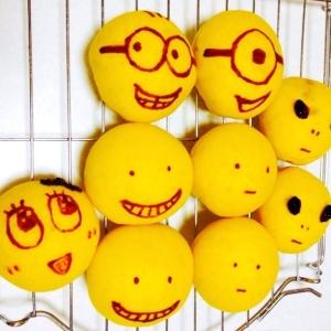 ふわふわっトロ~リなカレーパン  黄色い仲間たち