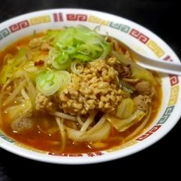 トロリと美味しい「納豆味噌タンメン」