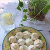卵白だけのクッキー(バニラアイスの残りの卵白で)