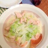 鶏胸肉と白菜のクリーム煮
