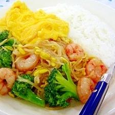 野菜たっぷりかみかみ中華丼