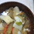 根菜たっぷりしょうがの味噌汁