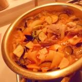 野菜たっぷり 肉豆腐なべ