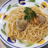 帆立のアメリケーヌソーススパゲティ