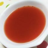 たっぷりトマトの冷製スープ