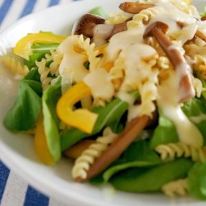 きのことたっぷり野菜のマカロニサラダ♪
