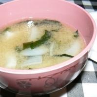 玉葱の甘味たっぷり味噌汁