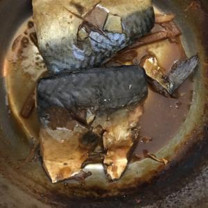 ご飯おかわり鯖の生姜煮