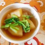 とうがん・小松菜の煮物