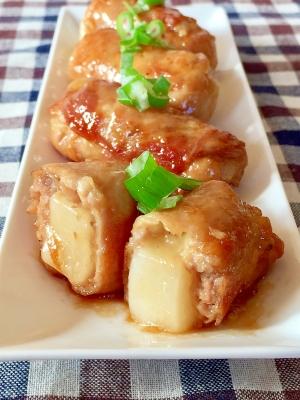 ★肉巻き餅チーズ★