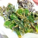 タラの芽と青コゴミの天ぷら