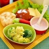 簡単!アボカドとブロッコリーの☆ポテトサラダ