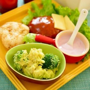 アボカドとブロッコリーのポテトサラダ