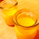 缶詰と牛乳でマンゴープリン
