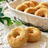 ダイエット応援☆全粒粉とおからの焼きドーナツ