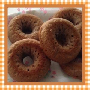 ♡HMで作るベイクドドーナツ(ココア)♡
