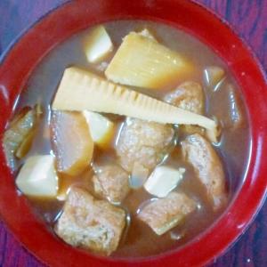 筍の味噌汁レシピ♪