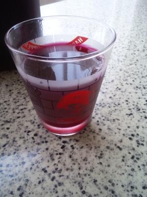 りんご酢で作るストレート紫蘇ジュース