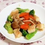 イカとブロッコリーの簡単中華炒め