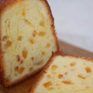 HMで簡単!伊予柑ピールのパウンドケーキ