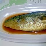 にんにく風味の鯖の煮付け++