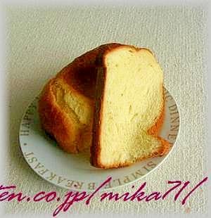 耳までやわらか、ちょっとリッチバージョンの食パン♪