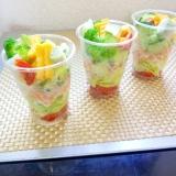10品目のカップサラダ