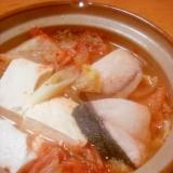 ピリ辛で温まろ◎ブリのチゲ鍋